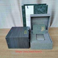 حار بيع أعلى جودة رويال البلوط الخارجي الساعات مربعات الأصلي مربع أوراق جلدية الخشب حقيبة يد 16 ملليمتر x 12 ملليمتر لمدة 15400 15710 15500 15202 26320 مشاهدة المعصم