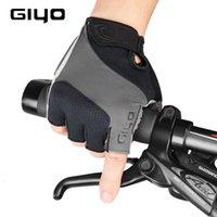 Giyo الدراجات نصف الاصبع جلوفير الدراجة الجبلية الغزل امتصاص الصدمات في الهواء الطلق المعدات الرياضية S-10
