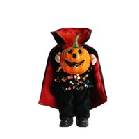 New Classic Halloween Headless Pumpkin Doll Ghost Festival Trick Doll Atmosphere Layout Props Dolls Decoration Supplies