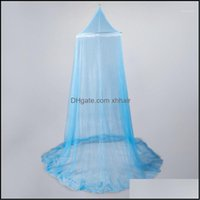 Bedding Supplies Textiles Home & Garden Bed Canopy Dome Mesh Net For Single To King Size Hammocks Cribs Outdoor Indoor Mosquito Mesh1 Drop D