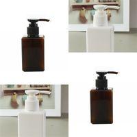 100ml Bottiglie di plastica vuote con pompa Contenitori di grandi dimensioni per shampoo, lozioni, sapone per il corpo liquido, creme confezioni da 21 717 R2
