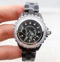 الفاخرة النسائية الرجال الماس ووتش جودة عالية السيراميك حزام أزياء سيدة القضيعة الساعات 33 ملليمتر 38 ملليمتر relojes دي لوجو الفقرة mujeres