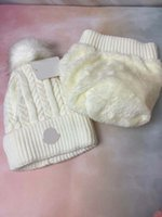 Chapeau tricoté de couleur pure d'hiver et de femmes, pompons chauds, bonnet de couleur, bordé de chapeaux de laine, casquettes de plein air massif, 6 couleurs