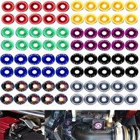 Fender-Unterlegscheiben Stoßfänger-Waschmaschine-Lision-Platten-Bolzen Dress Up-Kits für Honda Civic EK EP-AP-DC2 DC5-Passwort JDM