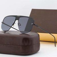 Nuovi uomini e occhiali da sole da uomo e da donna Attitudine alla coppia Astuccio Stile Aspetti Eye Protezione occhiali da sole Box