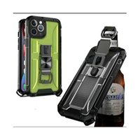 Armor Cases Holder Cover With Bear Bottle Opener Car magnetic for iPhone13 12 pro max 11 XR XS 8 SamsungS21 S20 FE Ultra Plus Note20 A01 A10s A11 A02 A02s A72 A52 MOTO