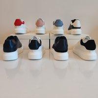 Großhandel Männer Freizeitschuhe Top Quality Womens Leder Schnürkomfort Hübsches Chaussures Herren Trainer Daily Lifestyle Skateboarding Schuhgröße 35-46