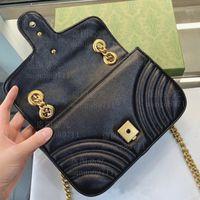 Sacs à main à la mode sacs à main sac à bandoulière sac à bandoulière classique sac à main avec sacs à poussière de boîte
