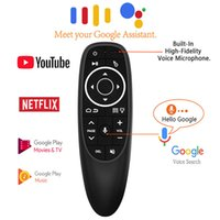 G10s Pro Голосовое управление Воздушная клавиатура Mouse Keyboard Gyro Sensing Mini Wireless Remote Backlit для Android TV Box PC H96 HK1 MAX S905X3 DHL