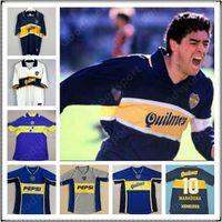 Retro 97 98 Maradona Boca Juniors Futbol Forması Roman Caniggia 96 2002 03 Palermo Futbol Gömlek Maillot Camiseta de Futbol 05 2001