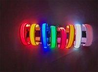 Nylon LED Pet Dog Collar, Sicurezza notturna Lampeggiante Glow nel guinzaglio del cane scuro, cani Collari fluorescenti luminosi per bambini Forniture per animali domestici 374 S2
