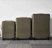 2021 Seyahat Bavul Erkekler Bayan Temel Bavul En Kaliteli Mango Turuncu Bambu Yeşil Trunk Spinner Evrensel Tekerlek Duffel Haddeleme Bagaj Şeker Renkler 0 X8P2 #