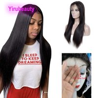 180% Density HD 13X4 Lace Front Wigs Straight Deep Wave Kinky Curly 12-38inch Brazilian Virgin Human Hair Wig Natural Color