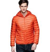 Luxo marca masculina homem jaqueta homem inverno outono jaqueta branco pato para baixo jaquetas homens com capuz ultra luz quente outwear casaco parkas ao ar livre