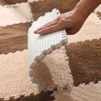 DIY Nordic Ins Room Floor Mat Carpet Plush Velvet Bedroom Full Rooms Children's Girls Net Pink Mats Floor Mats Plush Surface Crop