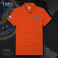 Hava Kuvvetleri Honduras HND Honduran Kısa Kollu Polo Gömlek Erkekler Yaz Moda Marka Rahat Pamuk Tee Gömlek Konfor Slim Fit Tops H0913