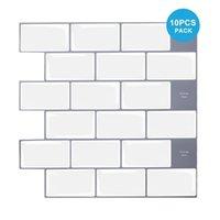 Vividtiles 12*12 Inch Self Adhesive 3D Peel and Stick Wall Tiles for Kitchen & Bathroom Backsplash - 10 Sheet 211025