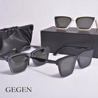 Occhiali da sole 2021 stile piccolo viso occhiali da sole uomini donne genlte gegen acetato polarizzato UV400 per