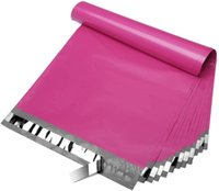 Storage Bags 100pcs Lots Pink Courier Mailing Self Seal Envelops Plastic Packaging Bag For Packing
