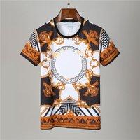 Herren Kurzarm Highdt Hohe Qualität R Street Hip Hop T-Shirt Tops Avant Garde Skulls Casual Trend T-shirts2