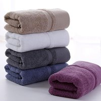 Erwachsene Verdicken Gesichtswaschentuch 100% Reine Baumwolle dicke weiche langklammere Baumwolltuch Home 5 Farben Leichte hochabsorbierende VT1401