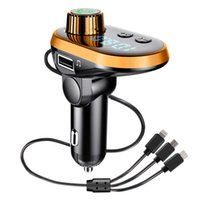 Q15 fast car bluetooth kit charger mp3 player with wireless fm transmitter