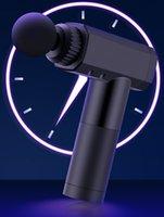 Fascia pistolet Muscle silencieux Massager Deep Massager de détente Membrane Membrane Vibration Modèle de charge USB multifonctionnel