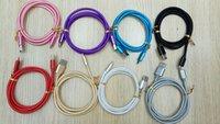Ununterbrochene Metalladapter Starker Micro / Typ C USB-Kabeln Daten Sync-Ladeführung für Samsungs21 S20 S10 Note21 Ultra 1m 3ft / 2m 6ft / 3m 10 ft