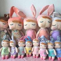 2 Parça Metoo Bebek Yumuşak Peluş Oyuncaklar Kızlar Bebek Sevimli Tavşan Güzel Angela Çocuklar için Doldurulmuş Hayvanlar