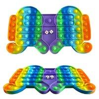 Nouveau jouet Pop Fidget un loup-garou de grandes échecs et différentes couleurs de jeux de famille Bubble Music Jouets Yiwu Factory Vente en gros