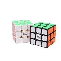 뜨거운 yj yj yjjun mgc m 3x3x3 2x2x2 마그네틱 2x2 MGC3 II v2 3x3 속도 매직 큐브 전문 트위스트 교육 완구