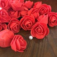 Festive & Party Supplies 50 100 200 500Pcs 3cm Foam Rose for Bear Artificial Flowers Diy Gifts Box Wedding Decorative Christmas Home Decor 20 Color