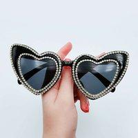L9206 vintage most popular cat eye shad sunglass women's sunglass trendy outdoor sun glass heart sunglass 2021
