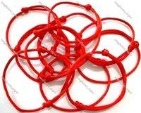 KABBALAH HAND Made Red Red-rope String Bracelet EVIL Eye Jewelry Kabala Good Luck Bracelets Protection For Men Women Female Lady Girl Boy