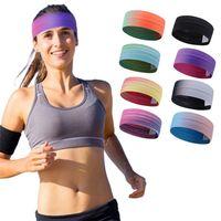 Non Slip Sweatbands Headband Grip Tennis For Yoga Basketball Running Sport Athletic Running Sports Sweat Head Hair Sweatband 1730 Z2