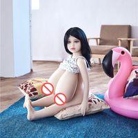 Jellynew 100cm Silicone Sex Dolls Big Huge Breast Chest Tits Full Body Adult Oral Lifelike Anime Vagina Pussy AnalAdult Toys Masturbators For Men