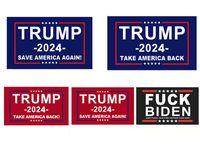 3x5ft Donald Trump Flag 2024 Banner elettorale Mantieni di nuovo l'America Grande