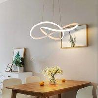 Modern minimalist diningroom pendant lamps Nordic bar counter bedroom dining table circular light