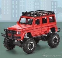 1:32 محاكاة diecasts المعادن لعبة سبائك suv نموذج سيارة مركبات مع ضوء الصوت لعب جيب للأطفال جمع هدية