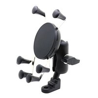 Cell Phone Mounts & Holders Bicycle Motorcycle Mobile Holder, Six-Claw Rearview Mirror Fixed And Adjustable Sports Holder