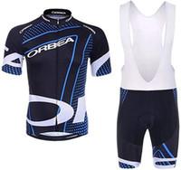 ROPA DE ORB ROPA CICLISMO HOMBRES SOMBRERO Camisa Set Ciclismo Jersey Sets 9d Pad Bike Shorts