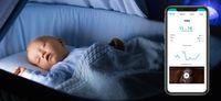 Kami drahtlose Sicherheit Luftfeuchtigkeit Temperatur Baby Cry Alarm Nany Monitor IP-Kamera Nachtlicht