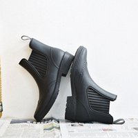 Fashionable Rain Boots for Women Cross-Border Foreign Trade Waterproof Rubber Shoes All-Matching Rubber Boots Womens Rain Boots Female Adult