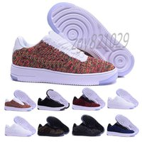 2021 Classique Haute Qualité One 1 Chaussures de course Dunk Hommes Femmes Flyline Coupes Low Cut Toute Blanche Black Red Formatrices Entraîneurs Taille 5,5-12 CV4