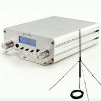 Trasmettitore fm 15W ECCITTORE A LUNGO RANGE 88MHZ - 108MHZ con antenna GP 1/4 Wave + Powersource