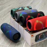 무선 블루투스 스피커 RGB 휴대용 강력한 높은 붐 박스 야외베이스 HiFi LED 빛