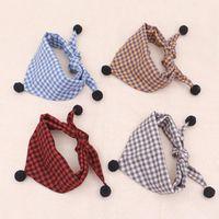 Dog Apparel Pet Saliva Towel Warm Autumn Winter Triangle Scarf Large Small Neck Collar Cat Denim Style