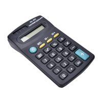 Calculators General Purpose Black 8 Digit Mini Calculator for Office Working No Battery Not Solar Power Who'le'sa'le UU87 R5EL