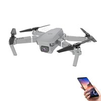 100x Super E59 RC LED Mini Controlled with Accessoires Drone 4K HD Video Camera Aerial Photography Helicopter Aircraft 360 Degree Flip WIFI long battery life