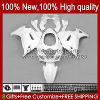 Fairings For SUZUKI KATANA GSXF 650 GSXF-650 GSX 650F GSX650F 08 09 10 11 12 13 14 Bodywork 18HC.8 GSX-650F factory white GSXF650 2008 2009 2010 2011 2012 2013 2014 Bodys